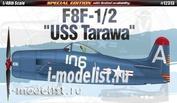 12313 Academy 1/48 Самолёт F8F -1/2 Bearcat