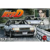 05965 Aoshima 1/24 Toyota Levin AE86 Wataru
