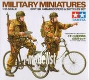 35333 Tamiya 1/35 Британские парашютисты на велосипедах (British Paratroopers)