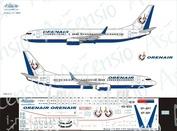 738-005 Ascensio 1/144 Декаль на самолет боенг 737-800 (оребургские авиалинии (Орен Айр))