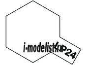 82124 Tamiya LP-24 Semi Gloss Clear (лак прозр.полуглянц.)10мл.