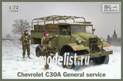 72054 IBG models 1/72 Chevrolet C30A General Service