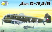 RVA72005 R.V.AIRCRAFT 1/72 Aero C-3A/B