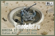 35009 IBG models 1/35 Зенитная пушка Breda 37/54