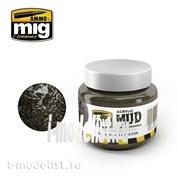 AMIG2105 Ammo Mig MUDDY GROUND (акриловый продукт для создания реалистичных оснований) 250 мл.