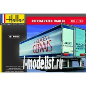 80776 Heller 1/24 REFRIGERATED TRAILER