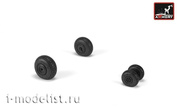 AW72052 Armory 1/72 wheel add-on Kit Rear wheels with weighted tires