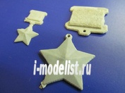 21003 DasModel  Медаль Золотая Зезда