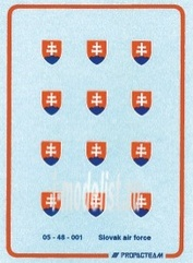 48001 Propagteam 1/48 Slovak Air Force national insignia