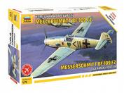 7302 Звезда 1/72 Немецкий истребитель Мессершмитт Bf 109 F-2