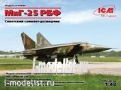 48904 ICM 1/48 МuГ-25 РБФ, Советский самолет-разведчик