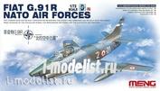 DS-004s Meng 1/72 FIAT G.91 R NATO AIR FORCES