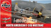 2047 Airfix 1/72  North American F-51D Mustang