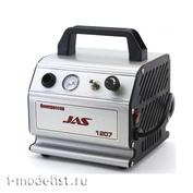 1207 Jas Compressor, with pressure regulator, automation, receiver 0.3 l
