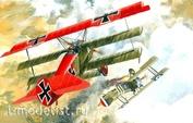 010 Roden 1/72 Самолёт Fokker Dr.I