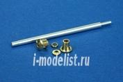 48B28 RB model 1/48 Металлический ствол 7,62cm PaK36(r) late model Sd.Kfz.139 Marder III