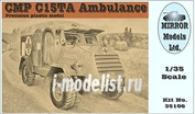 35106 Mirror-models 1/35 CMP C15TA Armored Ambulance