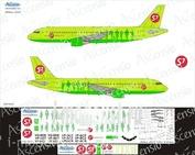 320-002 Ascensio 1/144 Декаль на самолет Arbus A320-200 (S7 arlines)