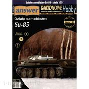 KH 1/2006 Answer 1/25 Działo samobieżne Su-85 + лазерная резка