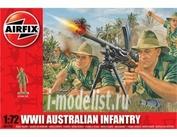 1750 Airfix 1/72 WWII Australian Infantry