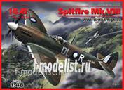 48067 ICM 1/48 Spitfire Mk.VIII, британский истребитель Второй Мировой войны