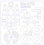 72930 KV Models 1/72 Do-17Z + маски на диски и колеса