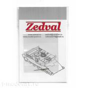 A48002 Zedval 1/48 ПВД для Su-34