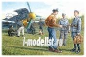 48085 ICM 1/48 Наземный персонал ВВС Германии (1939-1945)