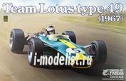20004 Ebbro 1/20 Team Lotus type 49 1967