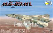 RVA72002 R.V.AIRCRAFT 1/72 Самолет MiG 23-ML