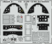 33256 Eduard 1/32 Фототравление для Sea Gladiator