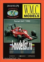 WMC-7 W.M.C. Models 1/25 Ferrari 641