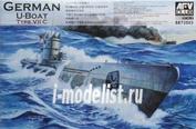 SE73503 AFVClub 1/350 German U-Boat Type VII C