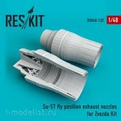 RSU48-0132 Reskit 1/48 Суххой-57 fly position сопла
