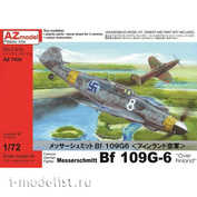 AZ7434 AZ Model 1/72 Самолёт Messerschmitt Bf 109G-6