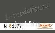 81077 Акан Германия RAL: 6006 Feldgrau (GRAUOLIV) армейская техника, форма, аксессуары: бочки, фляги, канистры, каски.