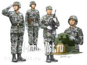 00431 Я-моделист клей жидкий плюс подарок Trumpeter 1/35 PLA Tank Crew