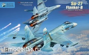 KH80163 Kitty Hawk 1/48 Su-27 Flanker-B