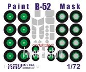 M72 043 KAV models 1/72 Окрасочная маска на B-52 (Modelcollect)
