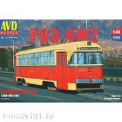 4033AVD AVD Models 1/43 Tram RVZ-6M2