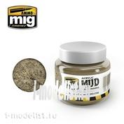 AMIG2102 Ammo Mig LIGHT EARTH GROUND (акриловый продукт для создания реалистичных оснований) 250 мл.