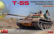 37074 MiniArt 1/35 Танк Т-55 Чехословацкого Производства