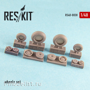RS48-0038 RESKIT 1/48 Resin wheels