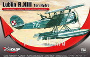 485003 Mirage Hobby 1/48 Lublin R.XIII Ter / Hydro (Reconnaissance seaplane) Lublin R.XIII Ter / Hydro (Reconnaissance seaplane)