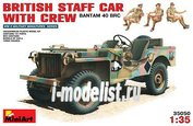 MiniArt 1/35 35050 British command car with crew
