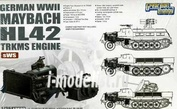 L3522 Great Wall Hobby 1/35 Германский двигатель Maybach HL42 TRKMS для транспортеров sWS