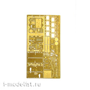 048242 Microdisign 1/48 photo etching Kit amphibious transport compartment (Zvezda)
