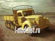 35412 ICM 1/35 V3000 M (Sd.Kfz.3B) Maultier, Германский полугусеничный грузовой автомобиль ІІ МB