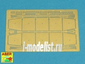 72 A04 Aber 1/72 Фототравление для Side skirts for PzKpfw IV, Ausf.G, early Brummbar