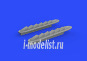 648315 Eduard 1/48 Дополнение для Typhoon Mk. I крытые выхлопные патрубки